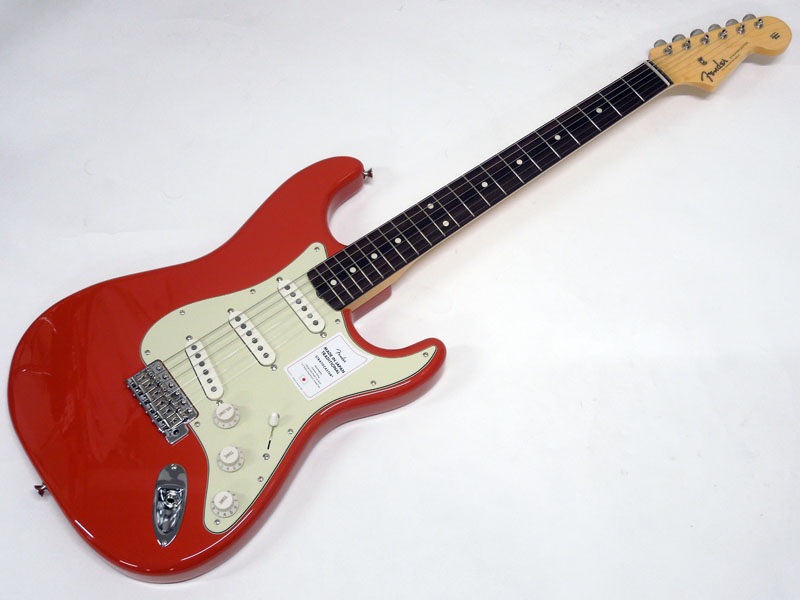 Fender ( フェンダー ) Made In Japan Traditional 60s Stratocaster Fiesta Red 【国産 ストラトキャスター New 】 フェンダー・ジャパン