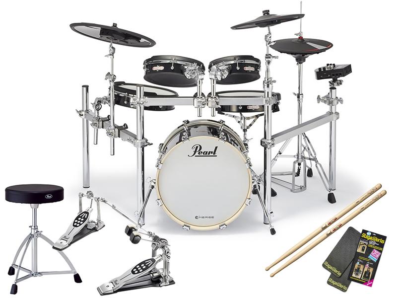 Pearl ( パール ) EM-53HB e/HYBRID Twin Pedal SET ◆ [e/MERGE Electronic Drum Kit] [電子ドラム] [エレドラ][パール]