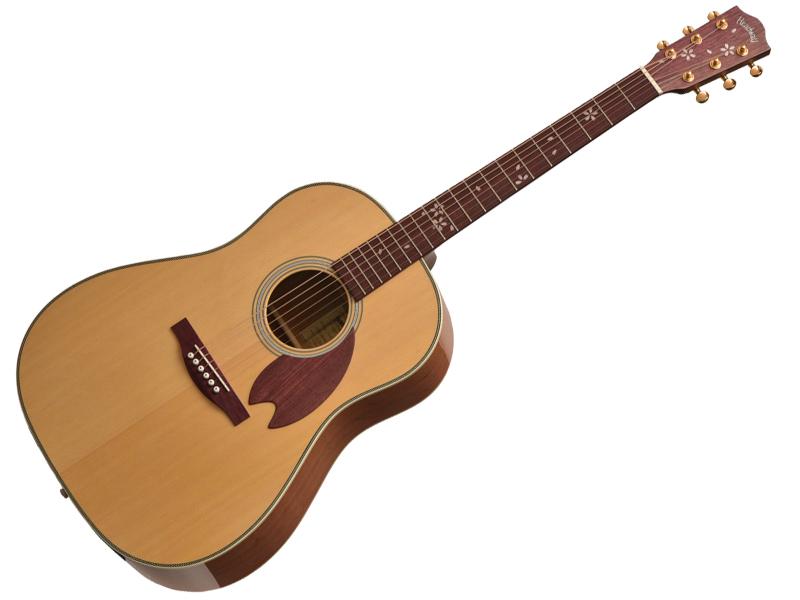 桜ギター 628mmスケールのラウンドショルダーボディ Headway ヘッドウェイ HJ-SAKURA F アコースティックギター 20 STD S 倉庫 国産 本店 桜