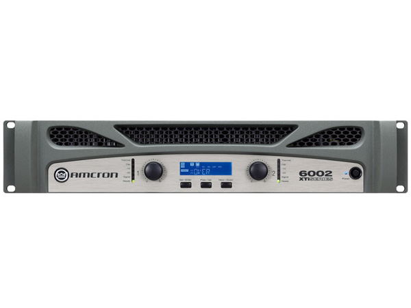 CROWN /AMCRON ( クラウン /アムクロン ) XTi6002 ◆ パワーアンプ ・1200W+1200W 8Ω ・C型コネクター電源ケーブル [ Xti2 series ]