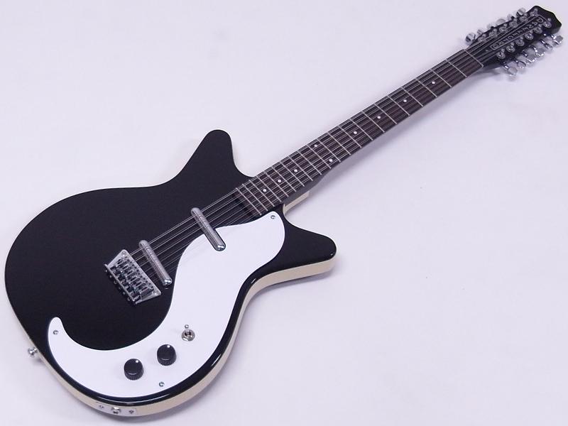 Danelectro ( ダンエレクトロ ) 59 12 STRING(BLK)【 12弦 エレキギター ダンエレ 】【特製コースター プレゼント 】