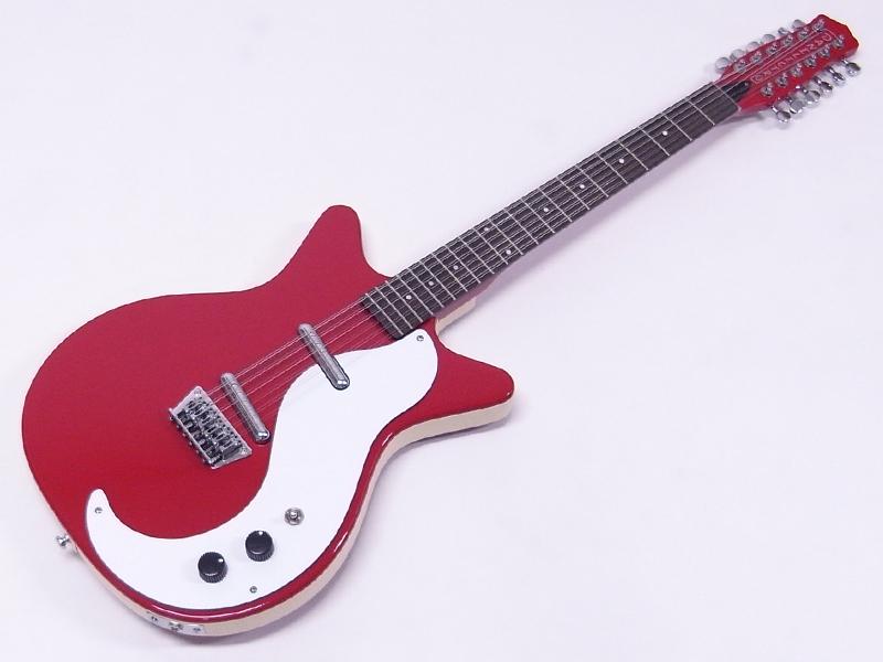 Danelectro ( ダンエレクトロ ) 12 STRING(RED【 12弦 エレキギター ダンエレ 】【特製コースター プレゼント 】
