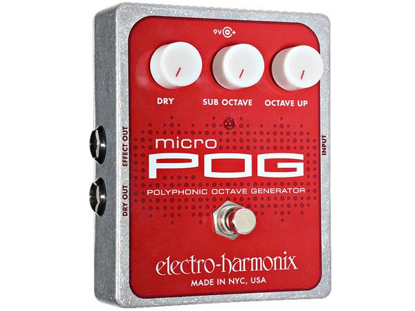 Electro Harmonix ( エレクトロハーモニクス ) MICRO POG【EH5990】 ◆ コンパクトエフェクター ポリフォニック・オクターブ・ジェネレーター