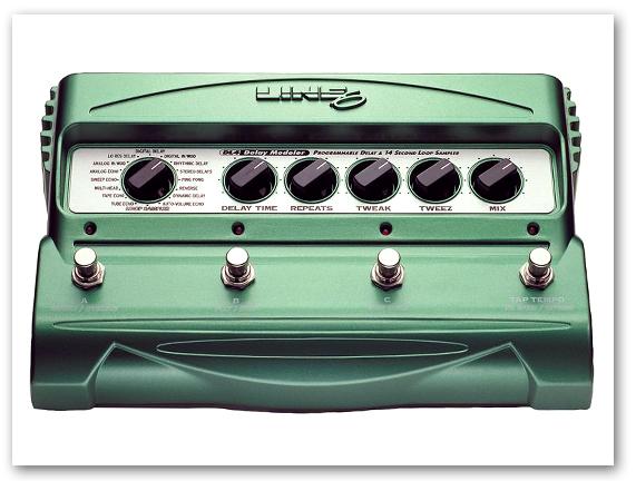 LINE6 ( ラインシックス ) DL4 ディレイ・ストンプボックス・モデラー