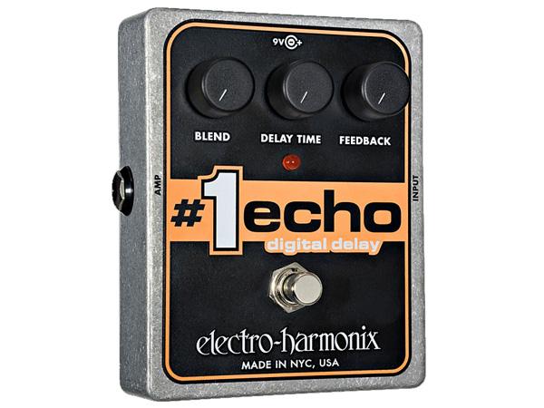 Electro Harmonix ( エレクトロハーモニクス ) #1 ECHO【EH7860 】 ◆ コンパクトエフェクター デジタルディレイ