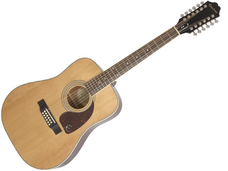 Epiphone ( エピフォン ) DR-212(NAT)【by ギブソン 12弦 アコースティックギター 】【春特価! 】 ドレッドノート タイプ