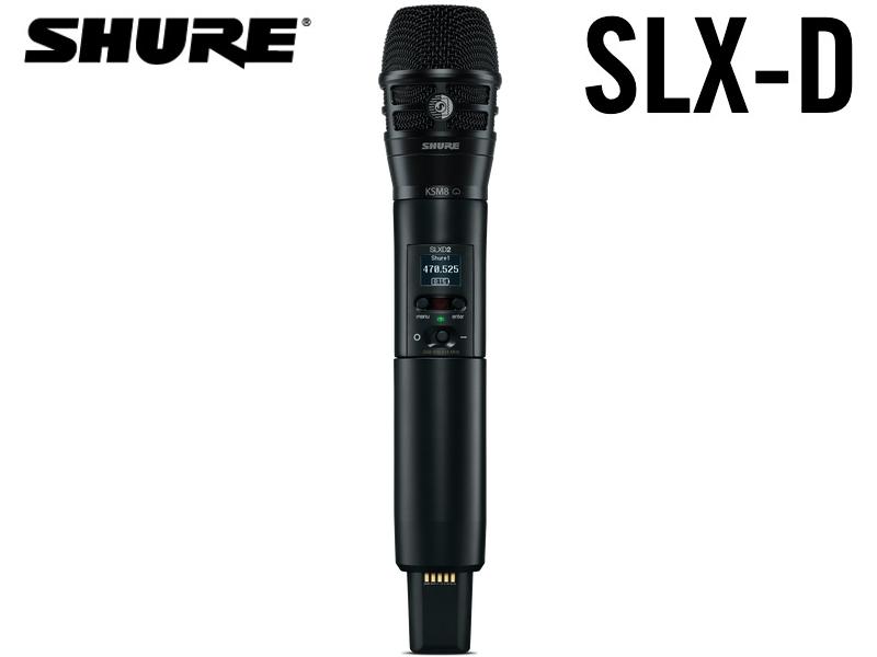 <title>お気に入 SLX-Dシリーズ用 KSM8マイクヘッド付きハンドヘルド型送信機 SHURE シュア SLXD2 K8B K8B=-JB SLX-D シリーズ</title>
