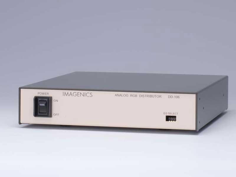 DD-106 1入力7出力 アナログRGB分配器 数量は多 IMAGENICS イメージニクス 在庫あり ランキング総合1位 2月18日時点 音声関連機器 映像
