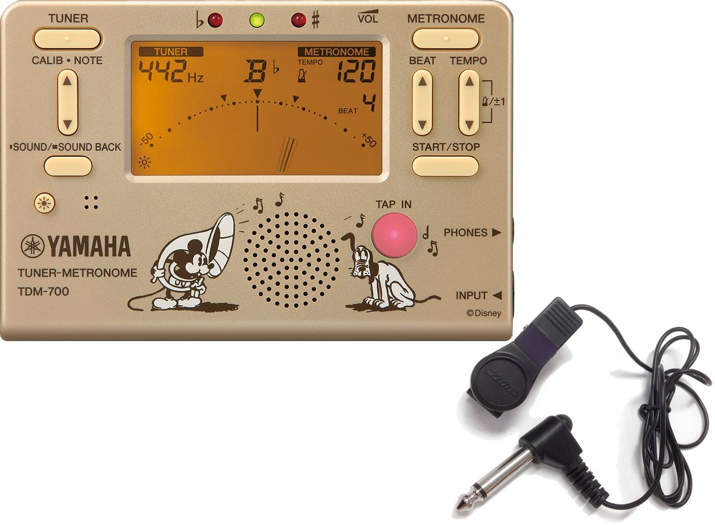 Disney Tuner Metronome TDM-700 Mickey アウトレット Mouse gold メール便出荷品 YAMAHA ヤマハ 店内限界値引き中&セルフラッピング無料 TDM-700DMK セット ゴールド 沖縄不可 北海道不可 マイク クロマチックチューナー チューナーメトロノーム 離島不可 ディズニー ミッキーマウス