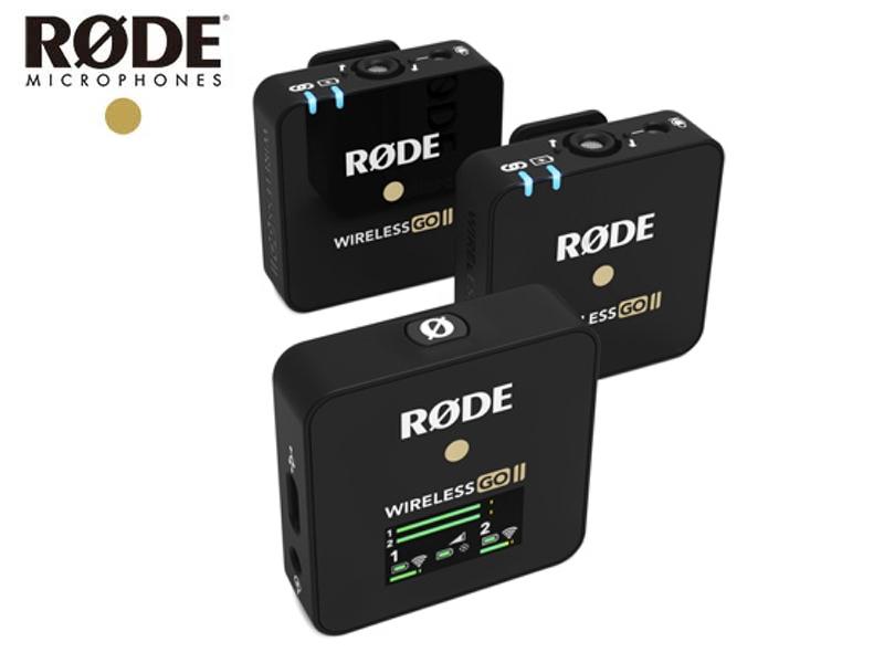 専門店 超小型ワイヤレスマイクシステム 2.4GHz WIGO RODE ロード Wireless GO II ワイヤレス送受信機マイクシステム 国内正規品 デュアルチャンネルモデル ゴー 高級 2 WIGOII ワイヤレス