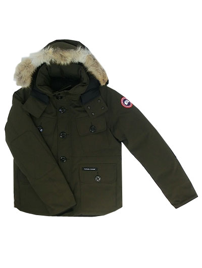 CANADA GOOSE Canada goose authorized agent 2301JM RUSSELL Russell raschel short down jacket EARTH BROWN ground brown