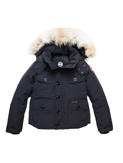 CANADA GOOSE Canada goose 2301JM authorized agent RUSSELL Russell raschel short down jacket Navy navy 10P05Dec15