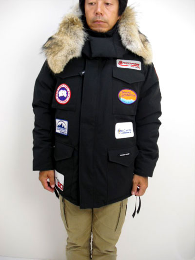 Constable parka and collaboration model of