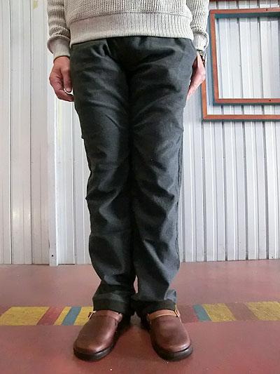 STUDIO ORIBE(スタジオオリベ)RP12 RIB PANTS リブパンツ スウェットパンツのリラックス感とクライミングパンツの実用性を。 秋冬素材 ダークグレー【送料無料】【あす楽対応】【レビューを書いて500円QUOカードGET】【コンビニ受取対応商品】10P28Sep16