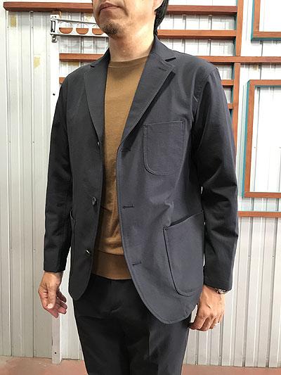 STUDIO ORIBE DELICIOUS デリシャス DJ1358 Travel Jacket トラベルジャケット 伸縮回復性抜群  Navy ネイビー リラックスジャケット 送料無料