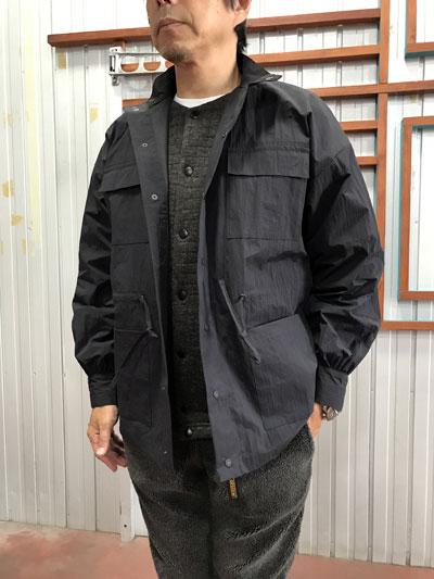orSlow(オアスロウ)SAILMAN JACKET オリジナル撥水加工生地 セイルマンジャケット Black ブラック 送料無料