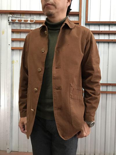 Gramicci(グラミチ) 【SALE】9501-56J WORK JACKETワークジャケット Brown ブラウン 送料無料
