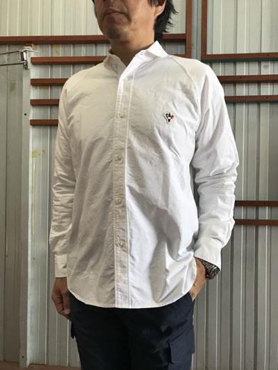 Arvor Maree アルボマレー フランス Sailar Long Shirt セーラーロングスリーブシャツ Whiteホワイト 日本製