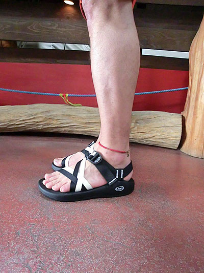 4a1faf173d9d1a Chaco Chaco men ZX1 Yampa ビブラムヤンパソール-limited black white tiptoe opening  double trap sandals BLACK X WHITE 10P04Jul15