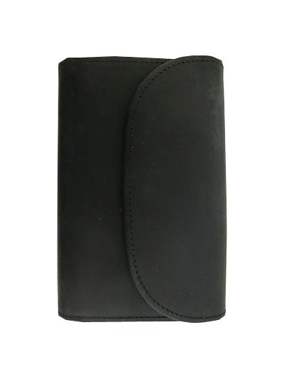 SETTLER セトラー OW1112 3 FOLD WALLET 3フォールドワレット Black ブラック 3つ折り財布 メンズ 【送料無料】【あす楽対応】