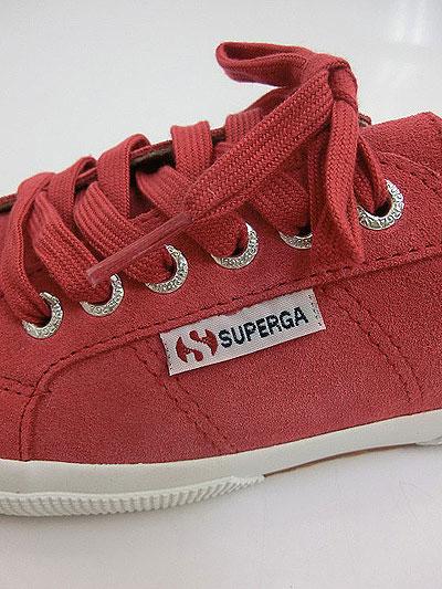 拼写蛾SUPERGA 2750 SUEU韦德TEA ROSE人运动鞋