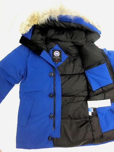 pacific blue canada goose jacket