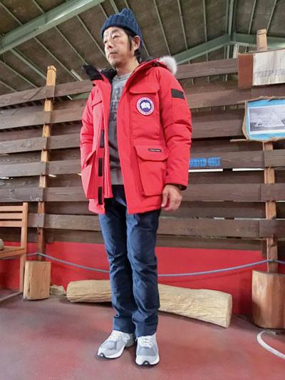 canada goose big red