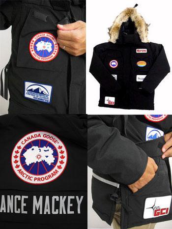"CANADA GOOSE加拿大鹅Lance Mackey MODEL Constable Parka警察,特种部队使用的康斯塔布尔风雪大衣和""兰斯·makkei""的协作型号"
