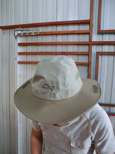 gaku online shop  OUTDOOR RESEARCH outdoor research Seattle Sombrero  Seattle sombrero 82130 Khaki JAVA color rain hat Gore-Tex  5e4f20e948d