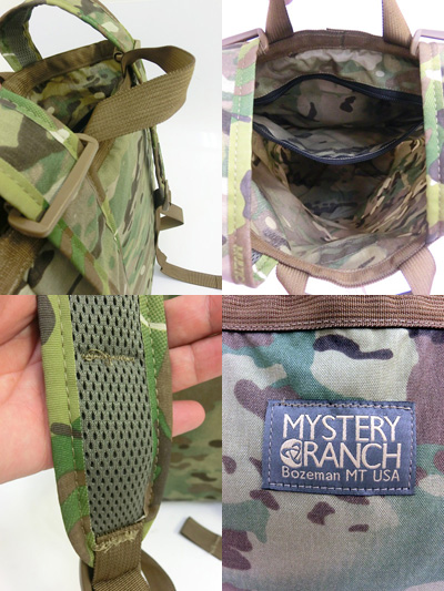 MYSTERY RANCH(神秘午餐)正规代理店BOOTY BAG MultiCam战利品包多野鸭Made in USA10P05Dec15