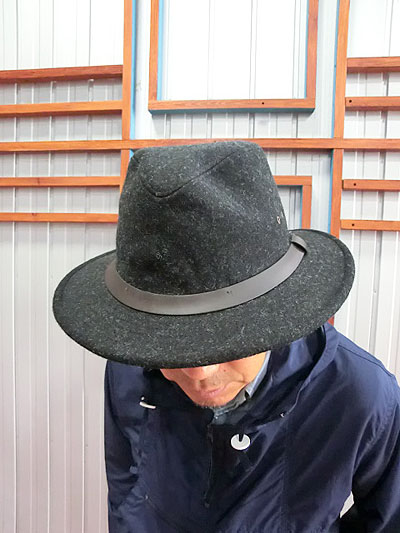 gaku online shop  Wool hat Charcoal charcoal made in FILSON Filson ... 879fbd85202