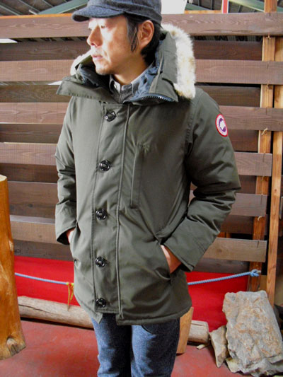 The chateau Chateau-3426JM old VANCOUVER country agency model who does not choose the Canadian goose CANADA GOOSE-style