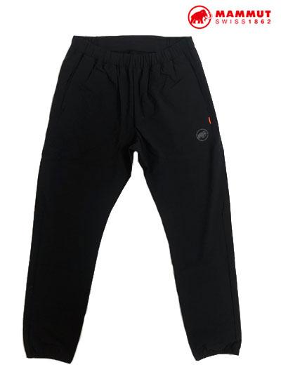 MAMMUT マムート1022-01040 Boulder Light Pants  ボルダーライトパンツ 速乾性 Black ブラック