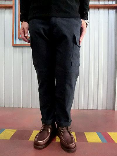 【SALE】STUDIO ORIBE DELICIOUS(デリシャス)DP0106 ラウル Raul F2カーゴパンツ ネイビー