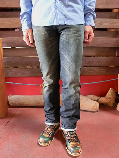 【SALE】Nudie Jeans ヌーディージーンズ 34161-1209 SLIM JIM 921 USED BLUE COATED【送料無料】