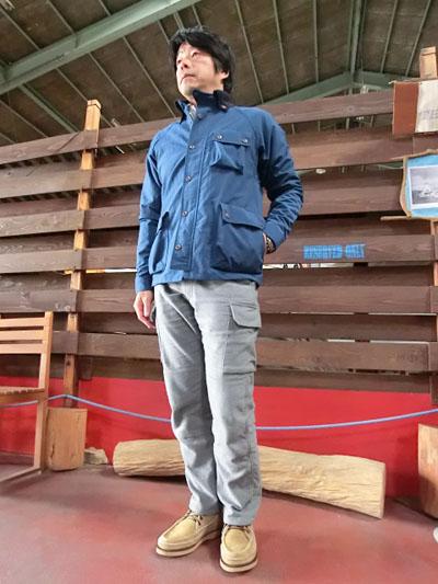 STUDIO ORIBE DELICIOUS美味场茄克NAVY Made in Japan 10P05Dec15