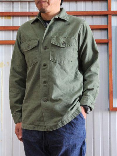 orslow ORSLOW オアスロウ メンズシャツ メンズシャツジャケット 03-8045-16 US ARMY SHIRTS アーミーシャツ シャツジャケット Green 送料無料