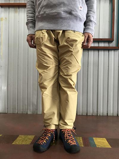 MOUNTAIN SMITH マウンテンスミス Garfild Pants フィールドパンツ ガーフィールドパンツ Beige ベージュ 送料無料