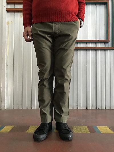 STUDIO ORIBE(スタジオオリベ) CL05-91クライミングパンツ テーパードシルエット Khakiカーキ 送料無料