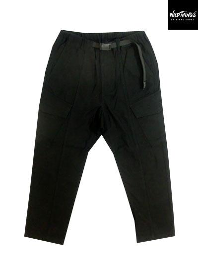 WILDTHINGS ワイルドシングス FIELD CARGO PANTSフィールドカーゴパンツ Black