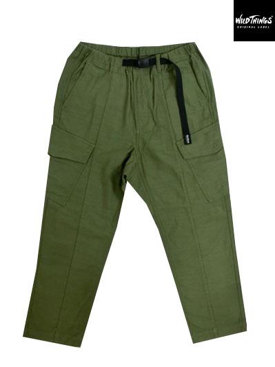 WILDTHINGS ワイルドシングス FIELD CARGO PANTSフィールドカーゴパンツ O.D(Green)