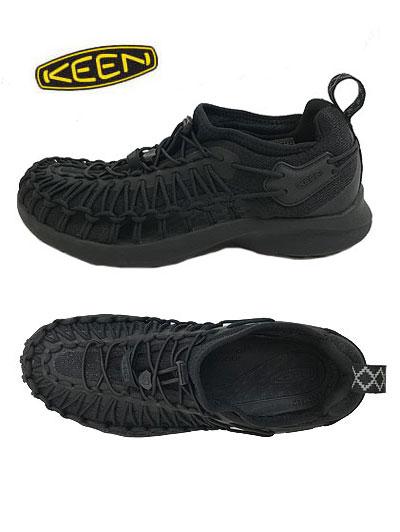 KEEN キーン UNEEK SNK ユニークスニーク オープンエアースニーカー Black ブラック