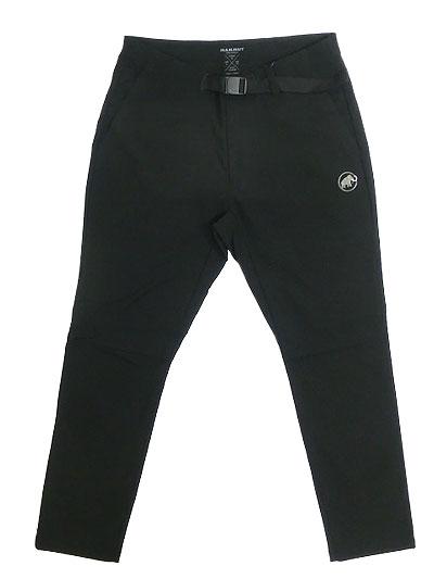 MAMMUT マムートConvey Pants コンベイパンツ ユーティリティーパンツ ブラック 送料無料