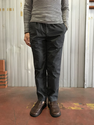 FOB FACTORY(エフオービー)【SALE】 SISILIA F0417 シシリア テーパードパンツ Black 日本製 テーパードシルエット ブラック 送料無料