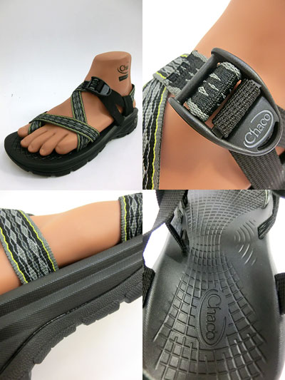 08a45381c09 Chaco (Chaco) men s Z VOLV 2 Z ヴォルブ 2 thumb support type sandals Perentie  Neon