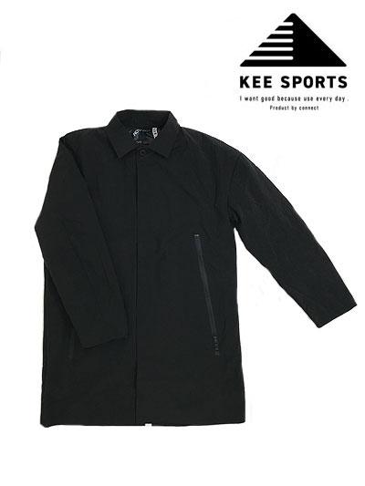 KEE SPORTS キースポーツ TAION(体温)【SALE】コラボレーション 3WAY仕様 ナイロンステンカラーダウンコート インナーダウンジャケット【TAION】Black ブラック