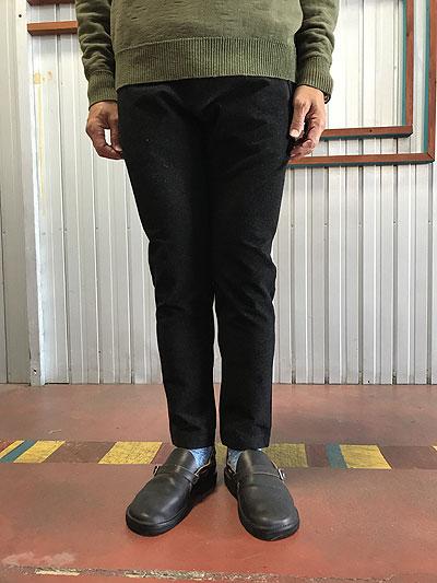 USW U.S.W Universal Style Wear ワンダーシェイプ ジョガーパンツ ストレッチパンツ Black ブラック
