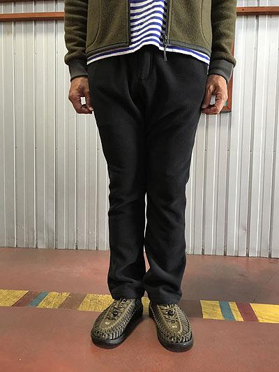 WILD THINGS ワイルドシングス SNOW NARROW PANTS フリース素材 Black ブラック ナロークライミングパンツ 【送料無料】【あす楽対応】