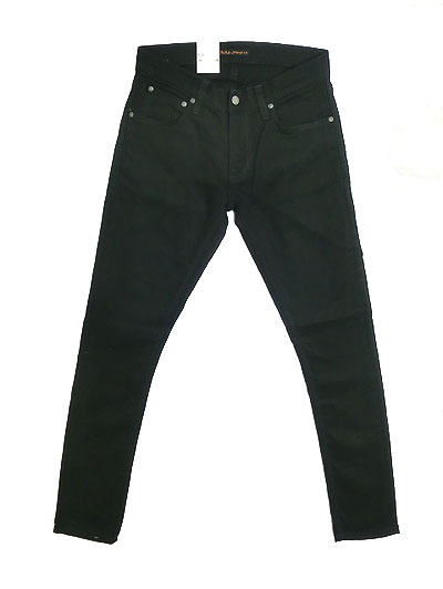 Nudie Jeans ヌーディージーンズ 47161-1047 TIGHT TERRY タイトテリー Deep Black ディープブラック