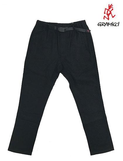 Gramicciグラミチ Wool Belend ウールブレンド NN-PANTS JUST CUT NNパンツジャストカット Black ブラック